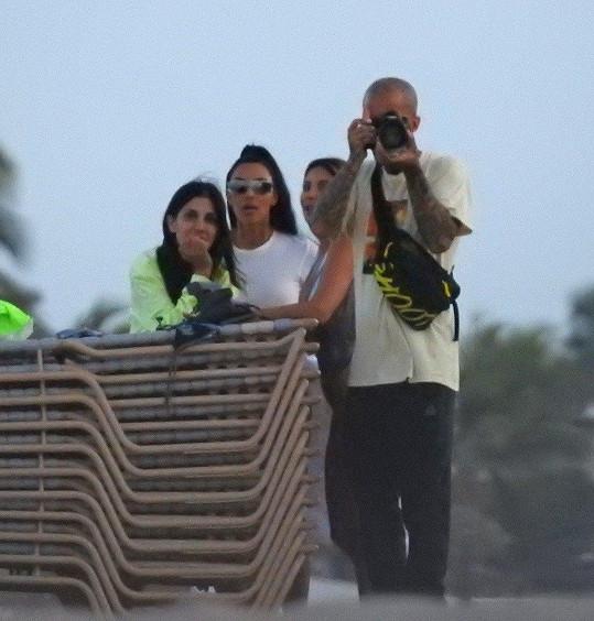 S Kim Kardashian fotil Hyde velice často.