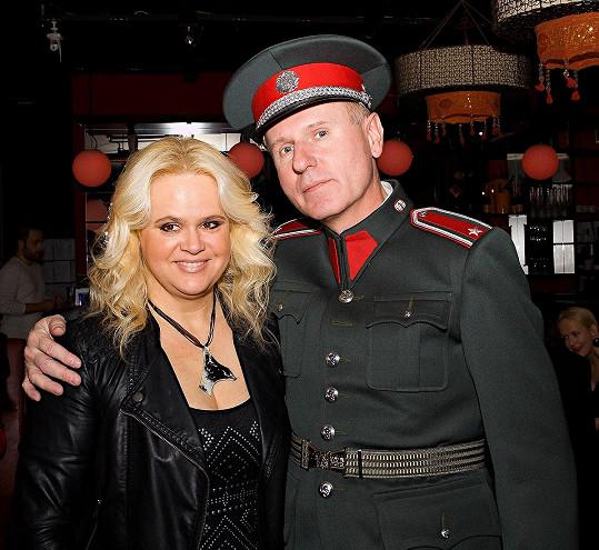 Monika Štiková s Michalem Dlouhým