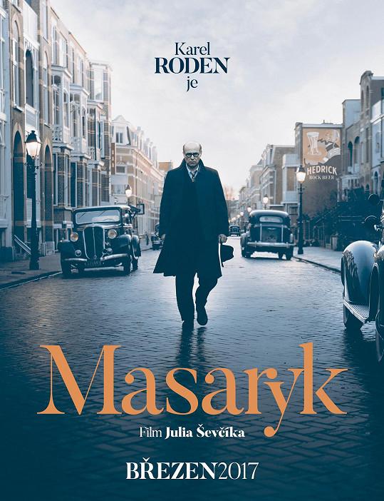 Teaserový plakát k filmu Masaryk
