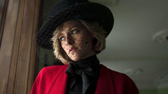 Kristen Stewart jako Diana v připravovaném snímku Spencer