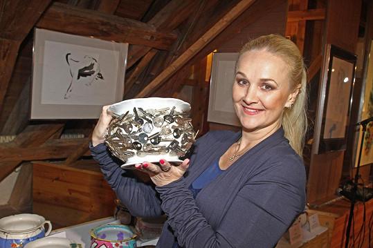Linda Finková a její nočník