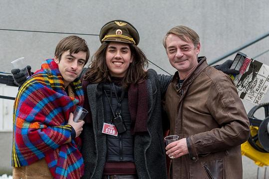 S filmovými kolegy