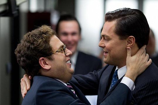 Hill s Leonardem DiCapriem ve Vlkovi z Wall Street
