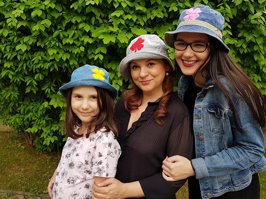 Magda s dcerami