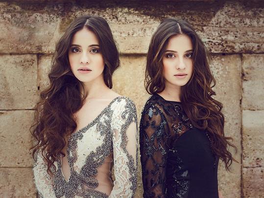 Dvojčata Bára a Lucie