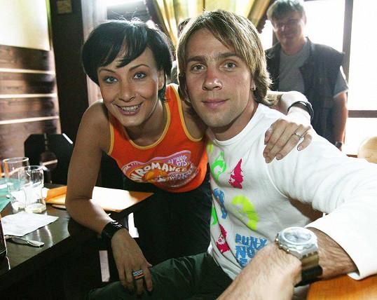 Roman Vojtek a Daniela Šinkorová spolu prožili románek během studií na JAMU.