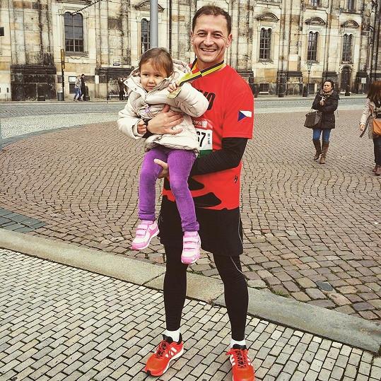 S dcerou Eliškou