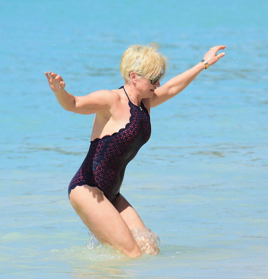 Emma Forbes na Barbadosu