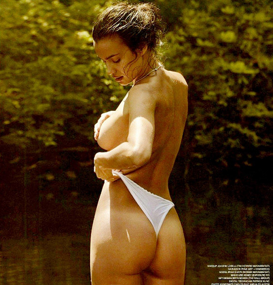 Irina se proslavila focením plavek.