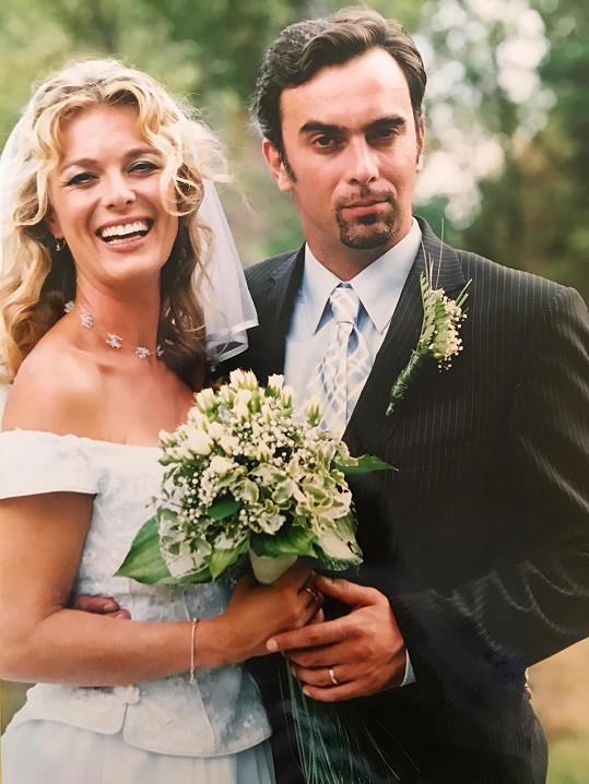 Za Tomáše Matonohu se vdávala před 17 lety.