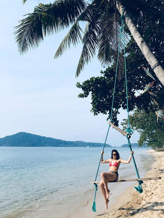 Zásnuby proběhly na dovolené v Thajsku.