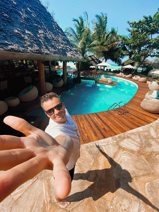 Cesta na Zanzibar je první po třech měsících půstu.