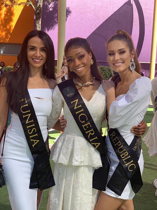 S Miss Nigérie a Tuniska