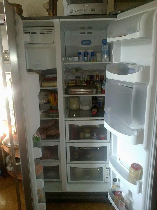 Lednice zůstala bez proudu.