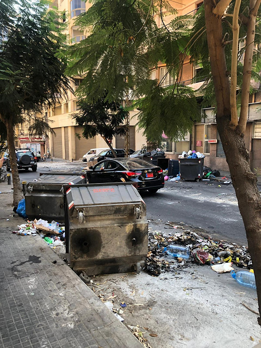 V ulicích Bejrútu je po demonstracích spoušť.