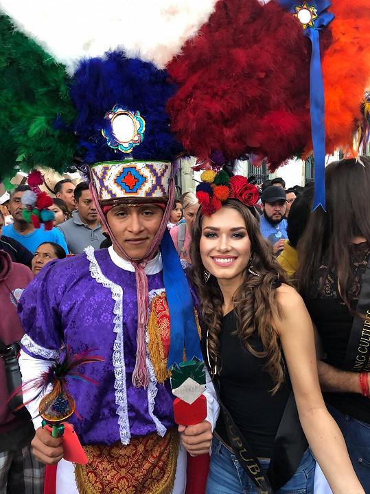 Mexiko si zamilovala.