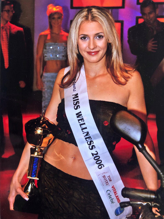 Vyhrála Miss Wellness.