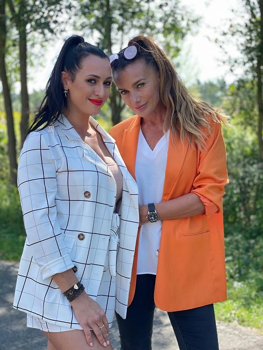 S ředitelkou soutěže Veronikou Farářovou