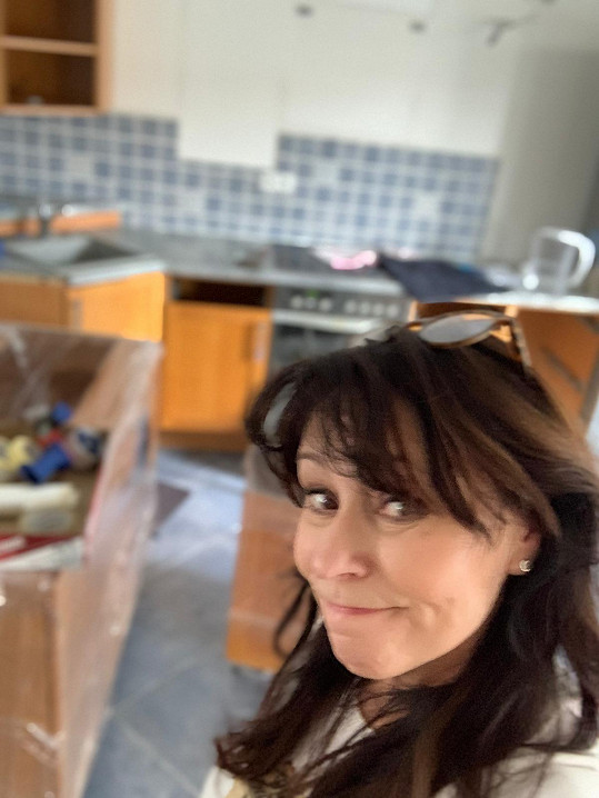 Po téměř dvaceti letech se Heidi pustila do rekonstrukce domu v Průhonicích.