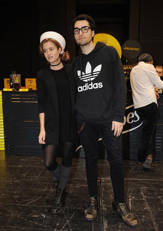 Emma s partnerem Jordanem Hajem