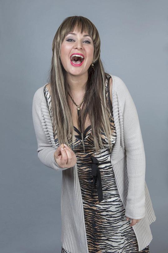 Jitka Čvančarová byla v seriálu opět velmi vyzývavá.