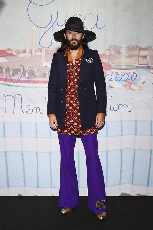 Jedním z hostů byl herec Jared Leto, který je fanouškem značky.