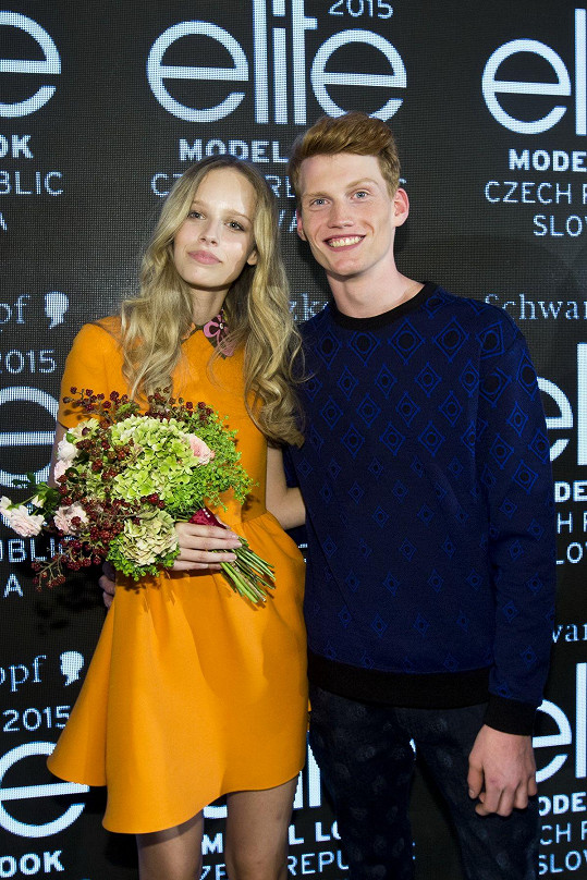 Kristian Černík a Aneta Měšťanová na stejném finále