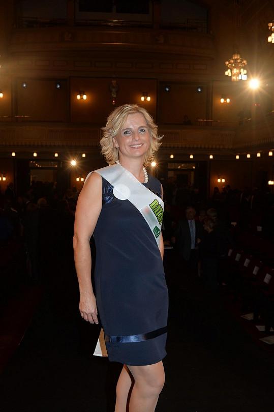 Vítězka Sestřičky roku 2014 Simona Hájková z Jihlavy