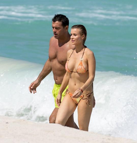 Joanna Krupa je tři roky manželkou Romaina Zaga.