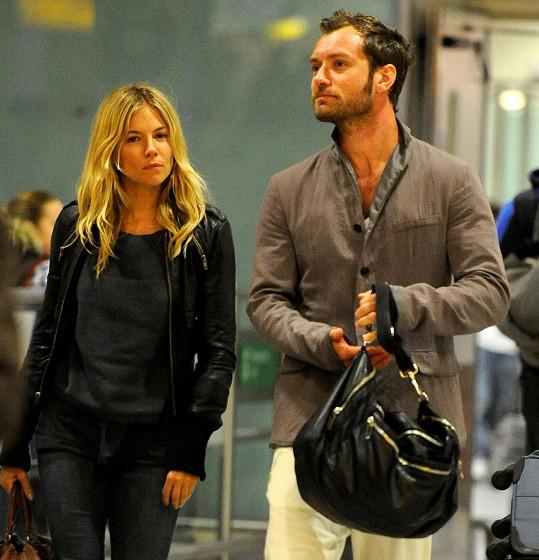 Jude Law s expartnerkou Siennou Miller
