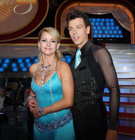 Matej Chren tančil s Ivetou Bartošovou.
