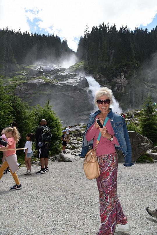 Účastníci zájezdu si užili alpskou přírodu.