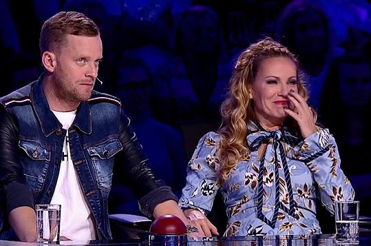 Jakub Prachař a Diana Mórová zírali...