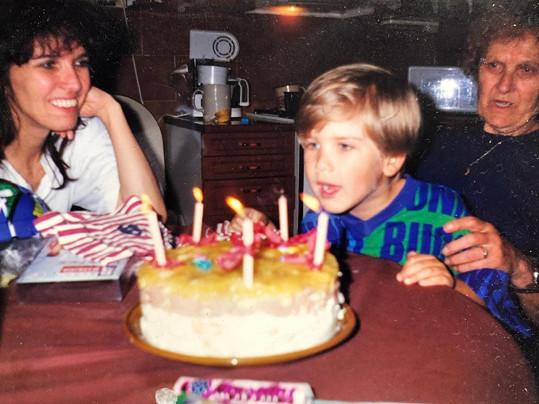 Matěj se pochlubil i vzpomínkou na své narozeniny.