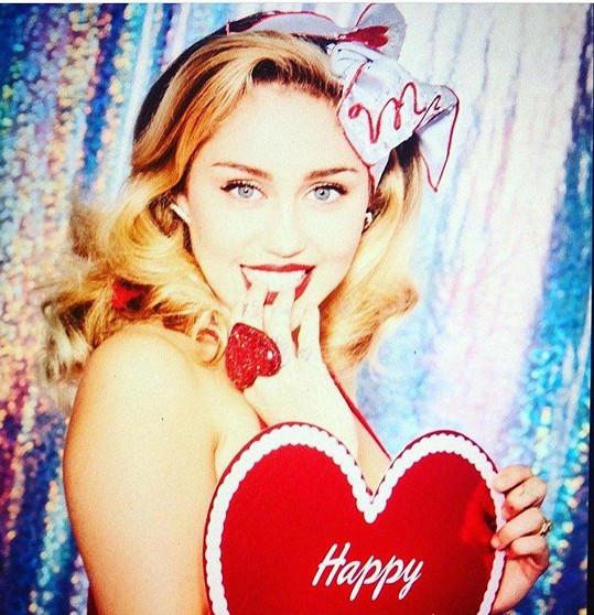 Sladký Valentýn s Miley