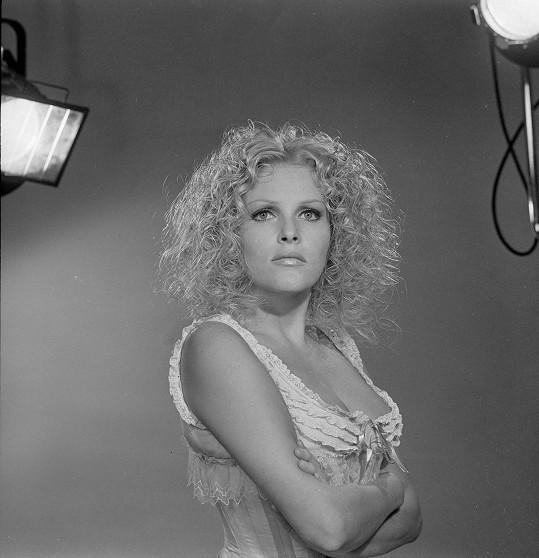 Olga Schoberová platila za sexbombu hollywoodského střihu.
