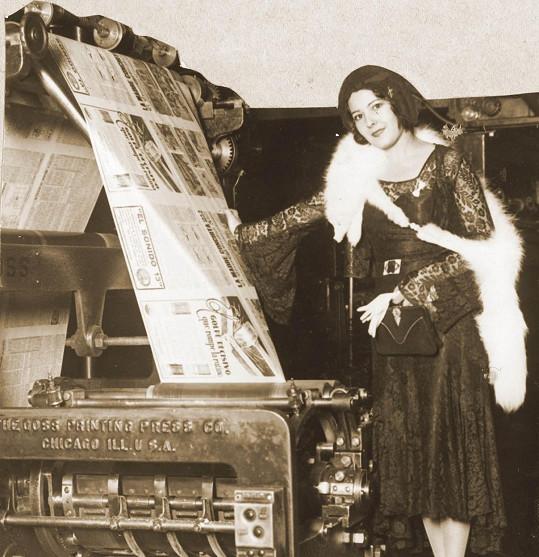 Lupita Tovar byla hvězdou 30. let minulého století.