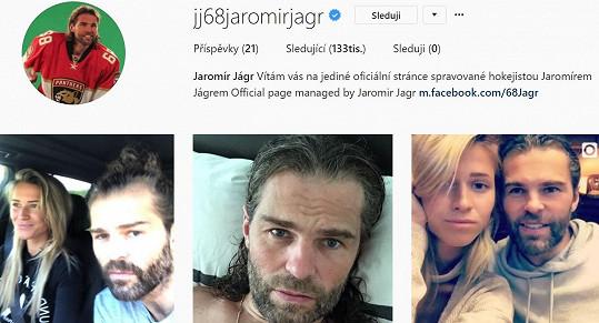 Že ji válcuje Jaromír Jágr, nikoho nepřekvapí.