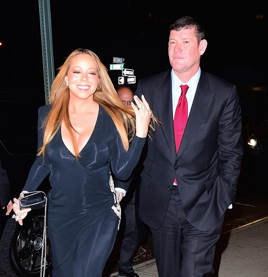 Mariah Carey si brzy vezme čtvrtého nejbohatšího Australana Jamese Packera.
