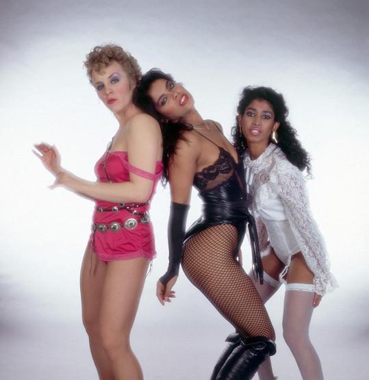 Dívčí trio Vanity 6 - Brenda Bennett, Vanity a Susan Moonsie