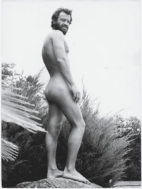 Akt Belmonda pořídila v roce 1969 v Los Angeles Ursula Andress