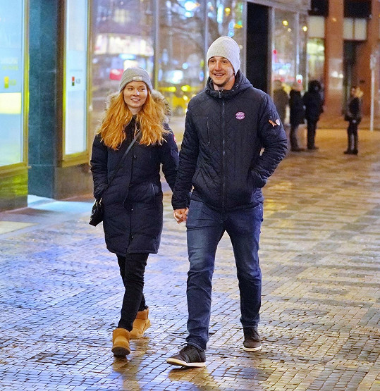 V lednu tohoto roku vzal Jakub svou milou poprvé do společnosti na filmovou preméru.