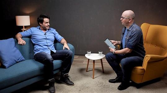 Během rozhovoru s moderátorem René Kekelym v pořadu Face 2 Face se poprvé přiznal k závislosti na lécích.