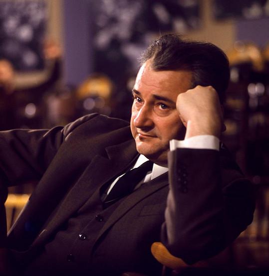Jiří Sovák na snímku z 60. let