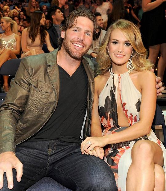 Carrie Underwood a Mike Fisher se již nemohou dočkat miminka.