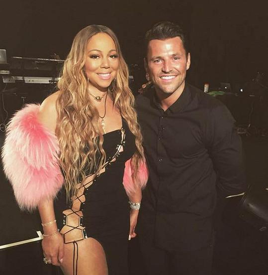 Mariah chtěla být při natáčení s Markem Wrightem sexy. Nepovedlo se.