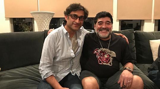 Asif Kapadia se svým (anti)hrdinou Diegem Maradonou