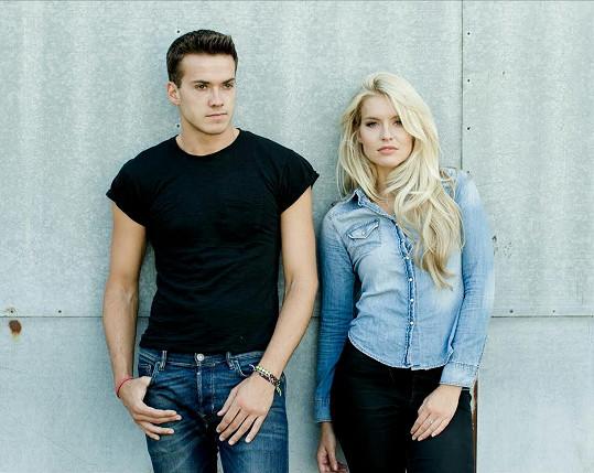 Jack a jeho sestra Kirsty, která vyhrála Miss Anglie a dostala se do TOP 10 na soutěži Miss World 2013.