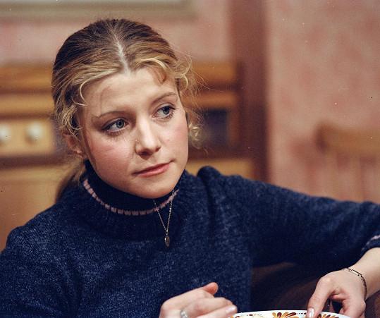 Dagmar Čárová na začátku herecké dráhy
