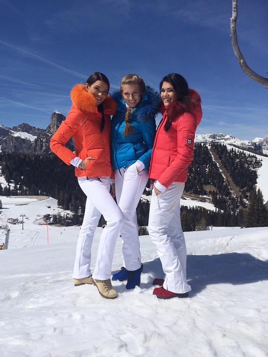 Missky si užívaly v Tyrolsku.